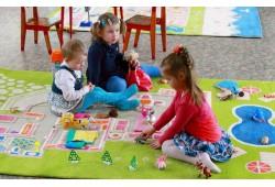 Как выбрать ковер для детского сада