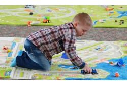 Детские ковры для мальчиков с дорогой