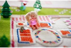 Обзор игрового 3d ковра Твин хаус для детской комнаты