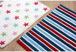 Выбор безворсовых ковров для детской комнаты