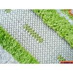 Ковер ТРАФИК (134*180 см) зеленый